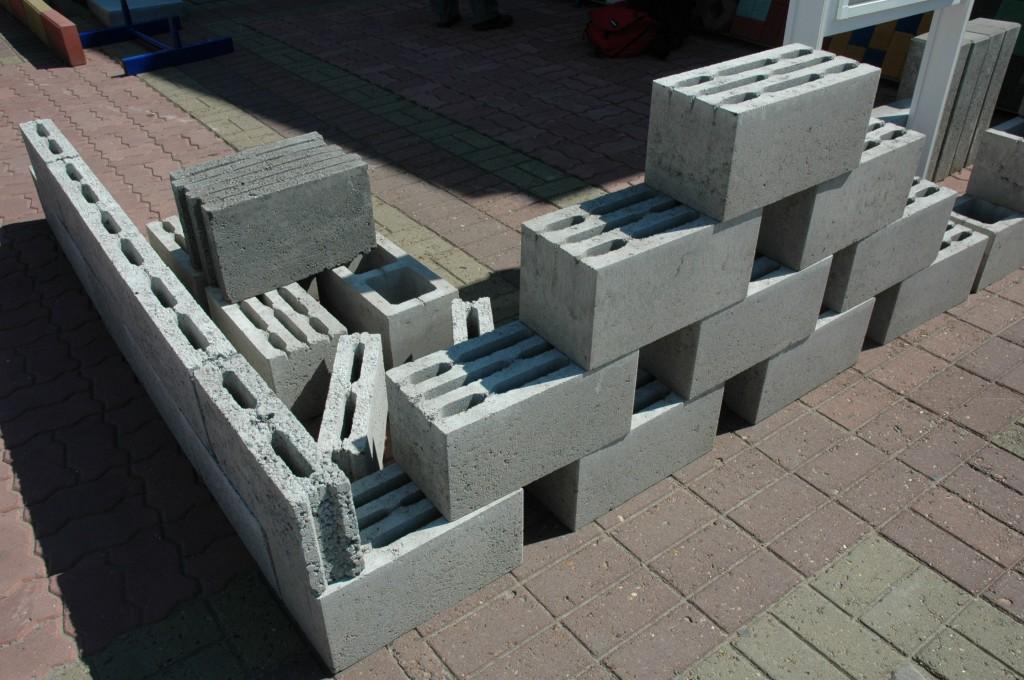 идеями, бетонные блоки виды фото одна